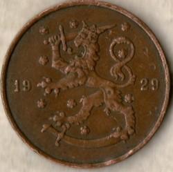 Münze > 10Penny, 1929 - Finnland  - reverse