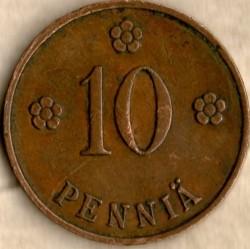 Münze > 10Penny, 1930 - Finnland  - reverse