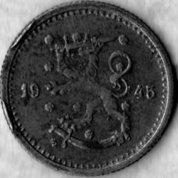 Münze > 50Penny, 1945 - Finnland  - obverse