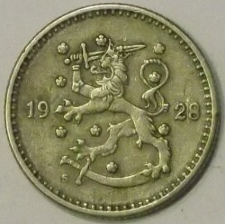 Münze > 1Mark, 1928 - Finnland  - reverse