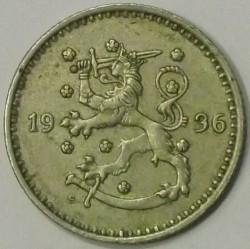Münze > 1Mark, 1936 - Finnland  - obverse