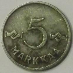 Münze > 5Mark, 1953 - Finnland  - reverse