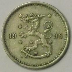 Münze > 50Penny, 1936 - Finnland  - reverse