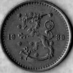 Кованица > 50пенија, 1921-1940 - Финска  - obverse