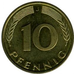 Münze > 10Pfennig, 1995 - Deutschland  - reverse