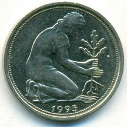 Münze > 50Pfennig, 1993 - Deutschland  - obverse