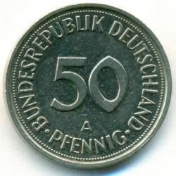 Münze > 50Pfennig, 1993 - Deutschland  - reverse