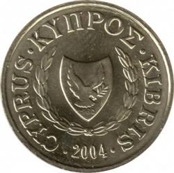 מטבע > 1סנט, 1991-2004 - קפריסין  - obverse