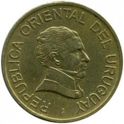 Moneta > 2pesai, 1998-2007 - Urugvajus  - obverse