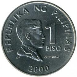 Moneda > 1peso, 1995-2003 - Filipinas  - reverse