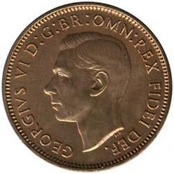 錢幣 > 1花星, 1949-1952 - 英國  - obverse