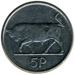 سکه > 5پنس, 1993 - ایرلند  - reverse