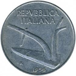 سکه > 10لیره, 1951-2001 - ایتالیا  - obverse
