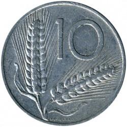 سکه > 10لیره, 1951-2001 - ایتالیا  - reverse
