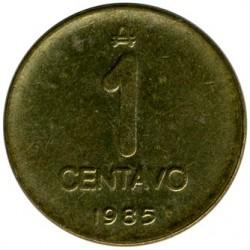 Moneda > 1centavo, 1985-1987 - Argentina  - reverse