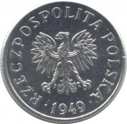 Coin > 2grosze, 1949 - Poland  - obverse