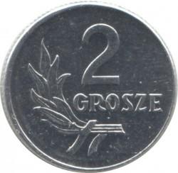 Coin > 2grosze, 1949 - Poland  - reverse