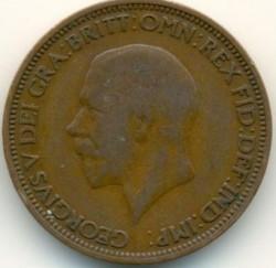 Moeda > ½pence, 1928-1936 - Reino Unido  - obverse