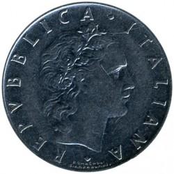 سکه > 50لیره, 1966 - ایتالیا  - obverse