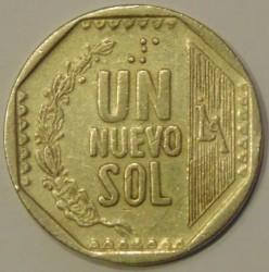 Moneta > 1nuevosol, 1991-2000 - Perù  - reverse