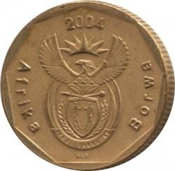 Монета > 20центів, 2004-2017 - Південно-Африканська Республіка  - obverse