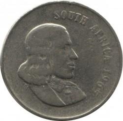 """Moneta > 20centów, 1965-1969 - Afryka Południowa  (Legenda po angielsku - """"SOUTH AFRICA"""") - obverse"""