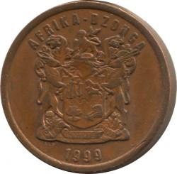 Moneta > 5centów, 1996-2000 - Afryka Południowa  - obverse