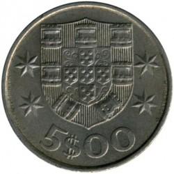 Moneda > 5escudos, 1983 - Portugal  - reverse