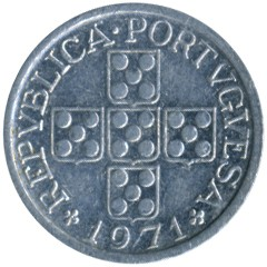 Moneta > 10centavos, 1969-1979 - Portogallo  - reverse