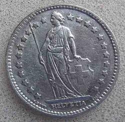 Coin > 1franc, 1943 - Switzerland  - obverse