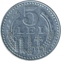 מטבע > 5לאי, 1978 - רומניה  - reverse