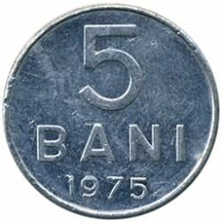 Moneta > 5bani, 1975 - Romania  - reverse