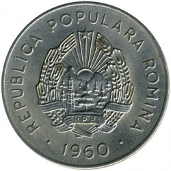 Moneta > 25bani, 1960 - Romania  - reverse