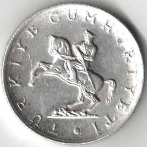 Coin 5 Lira 1982 Turkey Obverse