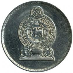 Monēta > 1rūpija, 1982-1994 - Šrilanka  - obverse