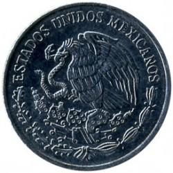 Moneta > 10sentavų, 1992-2009 - Meksika  - reverse