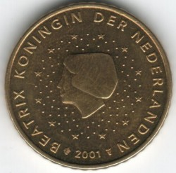 Coin > 50 euro cent, 1999-2006 - Netherlands  - obverse