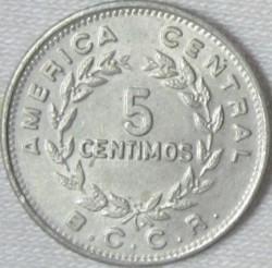 Монета > 5сентимів, 1972-1973 - Коста-Ріка  - reverse