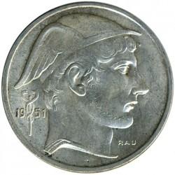 Монета > 50франка, 1948-1954 - Белгия  (Legend in Dutch - 'BELGIE') - obverse