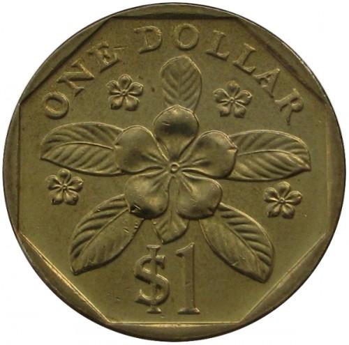 1 Dollar 1992 2012 Singapur Münzen Wert Ucoinnet