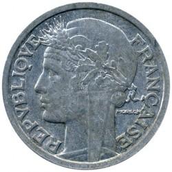 Coin > 2francs, 1944 - France  (REPUBLIQUE FRANÇAISE: Aluminium) - obverse