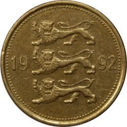 Minca > 50senti, 1992-2007 - Estónsko  - obverse