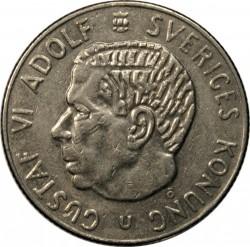 Moneda > 1corona, 1968-1973 - Suecia  - obverse