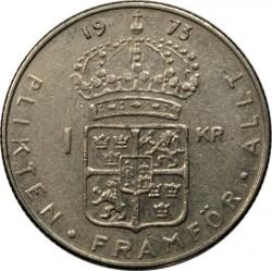 Moneda > 1corona, 1968-1973 - Suecia  - reverse