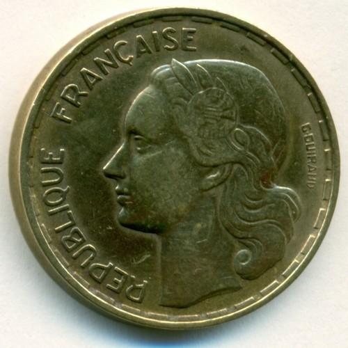 50 Francs 1950 1958 France Valeur Pièce Ucoinnet