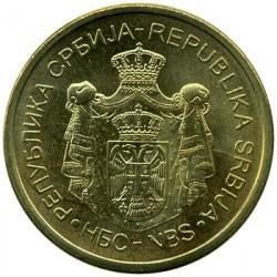 Moeda > 2dinara, 2011-2018 - Sérvia  - obverse