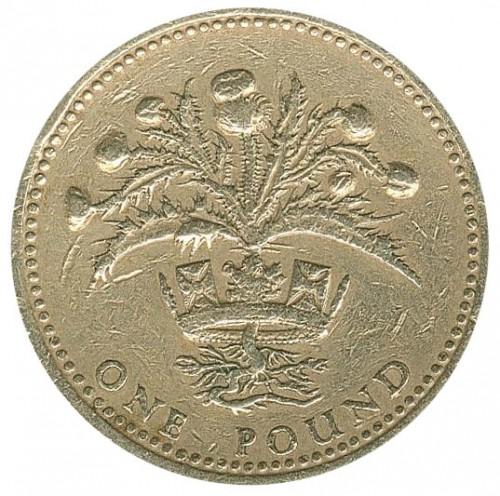1 Pfund 1989 Vereinigtes Königreich Münzen Wert Ucoinnet