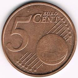Moneta > 5centesimidieuro, 2009-2013 - Belgio  - reverse