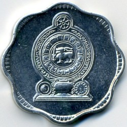Moneta > 10cents, 1978-1991 - Sri Lanka  - reverse