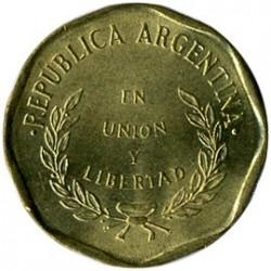 Moneta > 1sentavas, 1992 - Argentina  (Aštuonkampė, lygi briauna) - obverse